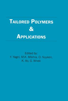 Tailored Polymers and Applications: 1st Edition (Hardback) book cover