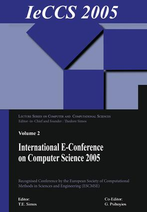 International e-Conference on Computer Science (IeCCS 2005): 1st Edition (Paperback) book cover