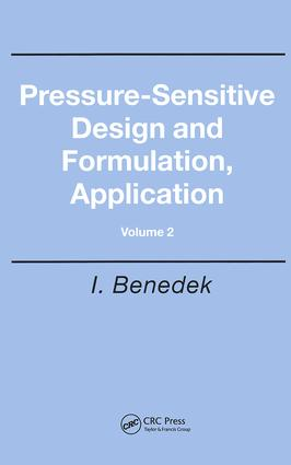 Pressure-Sensitive Design and Formulation, Application: 1st Edition (Hardback) book cover