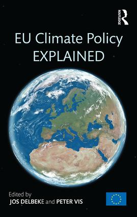 EU Climate Policy Explained: 1st Edition (Hardback) book cover