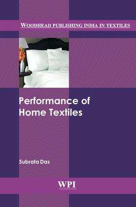 Performance of Home Textiles: 1st Edition (Hardback) book cover