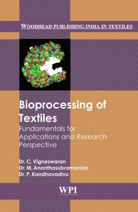 Bioprocessing of Textiles: 1st Edition (Hardback) book cover
