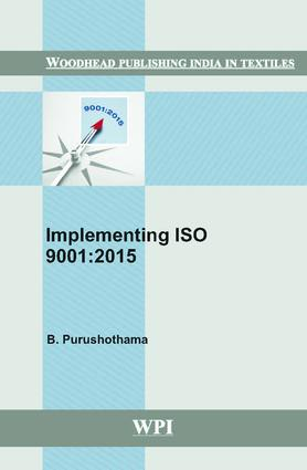 Implementing ISO 9001:2015: 1st Edition (Hardback) book cover