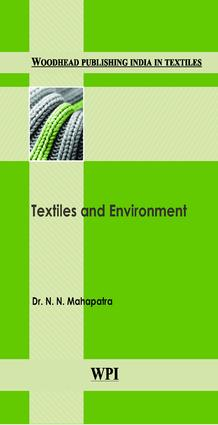 Textiles and Environment: 1st Edition (Hardback) book cover