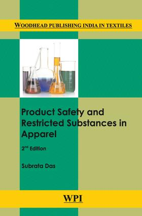 Product Safety and Restricted Substances in Apparel: 2nd Edition (Hardback) book cover