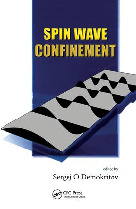 Spin Wave Confinement: 1st Edition (Hardback) book cover