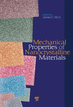 Mechanical Properties of Nanocrystalline Materials: 1st Edition (Hardback) book cover