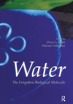 Water: The Forgotten Biological Molecule, 1st Edition (Hardback) book cover