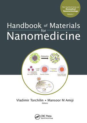 Handbook of Materials for Nanomedicine: 1st Edition (Hardback) book cover