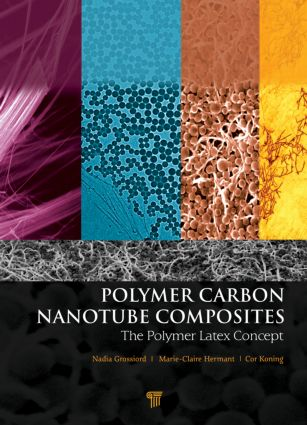 Polymer Carbon Nanotube Composites: The Polymer Latex Concept, 1st Edition (Hardback) book cover