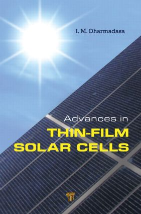 Advances in Thin-Film Solar Cells: 1st Edition (Hardback) book cover