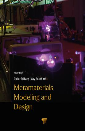 Metamaterials Modelling and Design: 1st Edition (Hardback) book cover