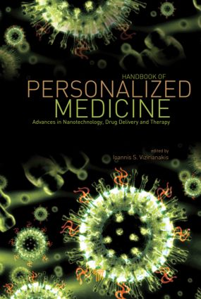 Handbook of Personalized Medicine: Advances in Nanotechnology, Drug Delivery, and Therapy, 1st Edition (Hardback) book cover