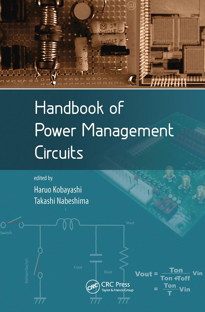 Handbook of Power Management Circuits: 1st Edition (Hardback) book cover