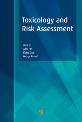 Toxicology and Risk Assessment: 1st Edition (Hardback) book cover