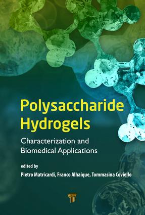 Polysaccharide Hydrogels: Characterization and Biomedical Applications, 1st Edition (Hardback) book cover