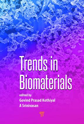 Trends in Biomaterials: 1st Edition (Hardback) book cover