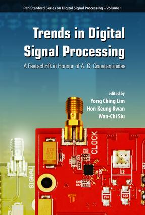 Trends in Digital Signal Processing: A Festschrift in Honour of A.G. Constantinides, 1st Edition (Hardback) book cover