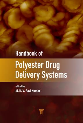 Handbook of Polyester Drug Delivery Systems: 1st Edition (Hardback) book cover