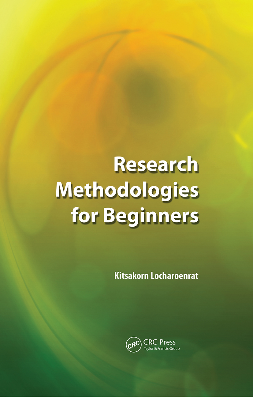 Research Methodologies for Beginners: 1st Edition (e-Book) book cover