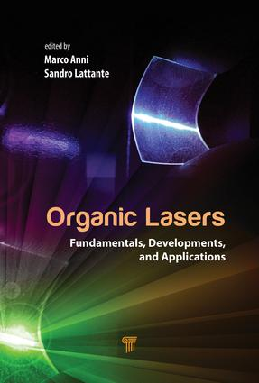 Organic Lasers: Fundamentals, Developments, and Applications, 1st Edition (Hardback) book cover