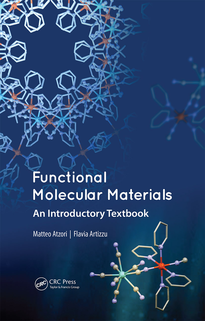 Functional Molecular Materials: An Introductory Textbook, 1st Edition (Hardback) book cover