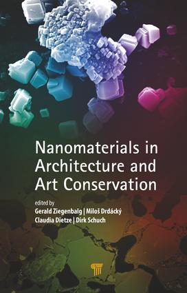Nanomaterials in Architecture and Art Conservation: 1st Edition (Hardback) book cover