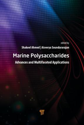 Marine Polysaccharides: Advances and Multifaceted Applications, 1st Edition (Hardback) book cover