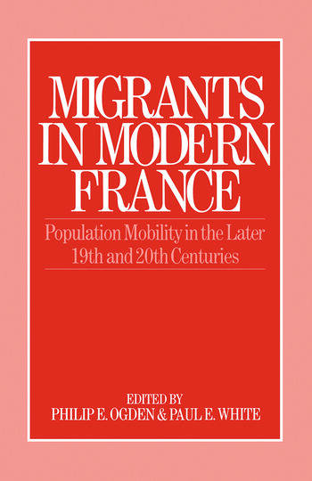 Migrants in Modern France book cover