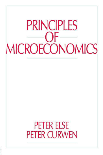 Principles of Microeconomics book cover
