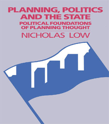 Planning Politics & State book cover