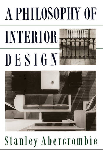 A Philosophy Of Interior Design book cover