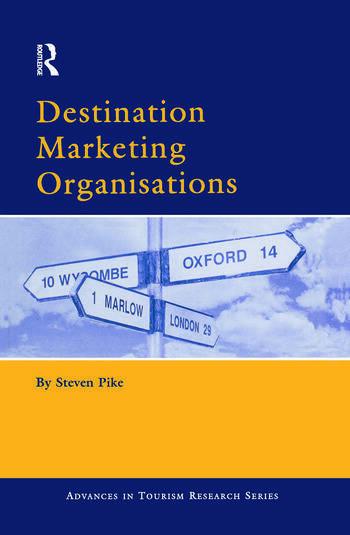 Destination Marketing Organisations book cover