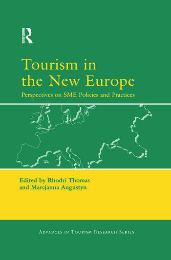 Tourism in the New Europe book cover