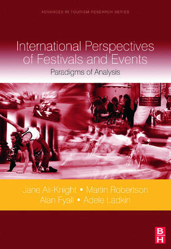 International Perspectives of Festivals and Events book cover