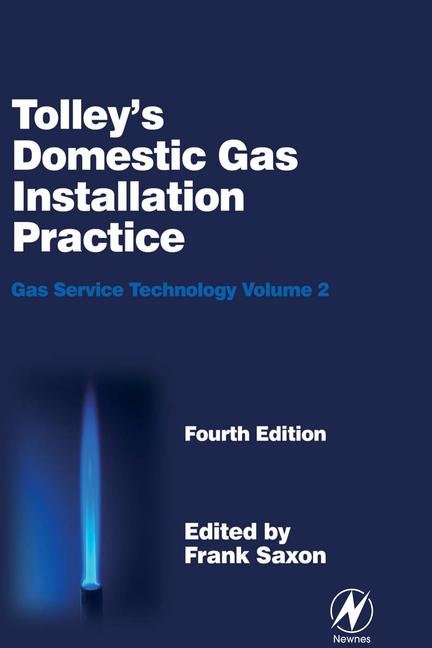 Tolley's Domestic Gas Installation Practice, 5th ed book cover