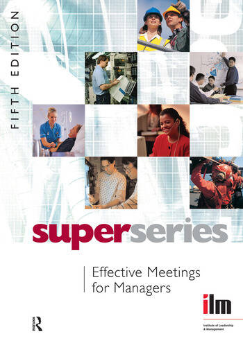 Effective Meetings for Managers book cover
