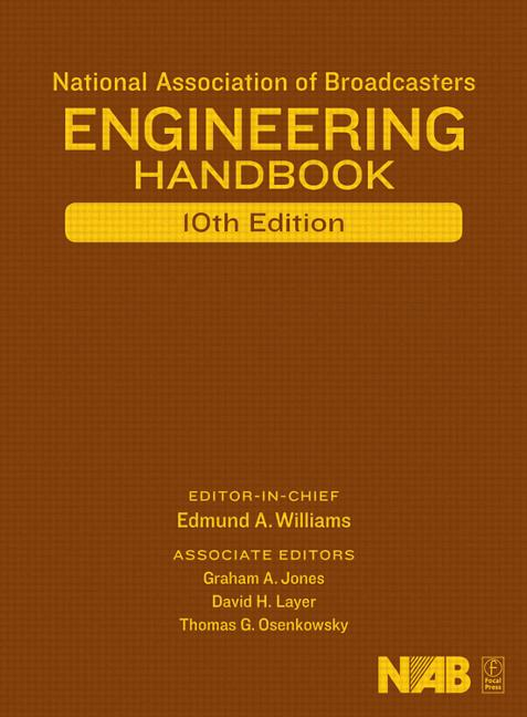National Association of Broadcasters Engineering Handbook NAB Engineering Handbook book cover