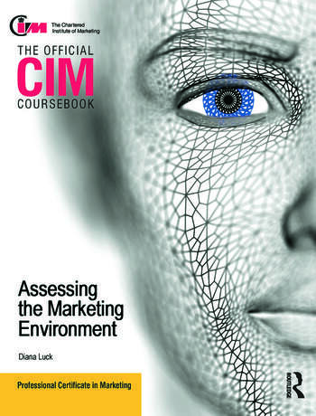 CIM Coursebook Assessing the Marketing Environment book cover