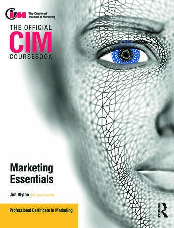 CIM Coursebook Marketing Essentials book cover