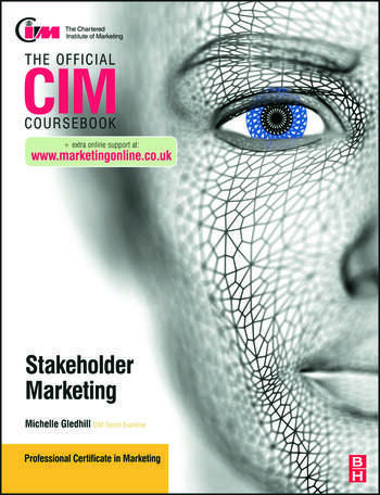 CIM Coursebook Stakeholder Marketing book cover