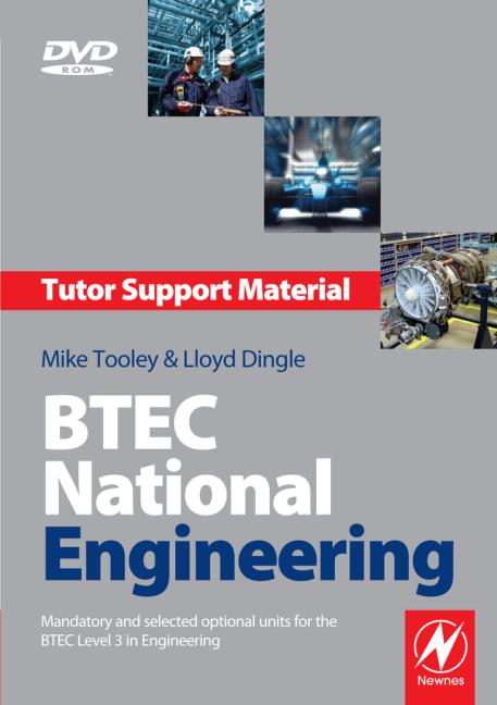 BTEC National Engineering Tutor Support Material 3e book cover
