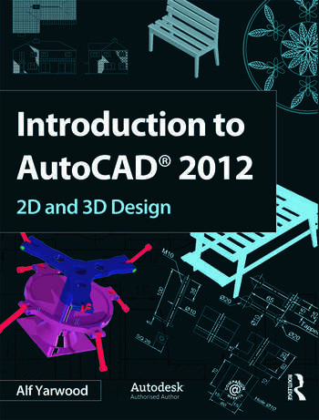 Introduction to AutoCAD 2012 book cover