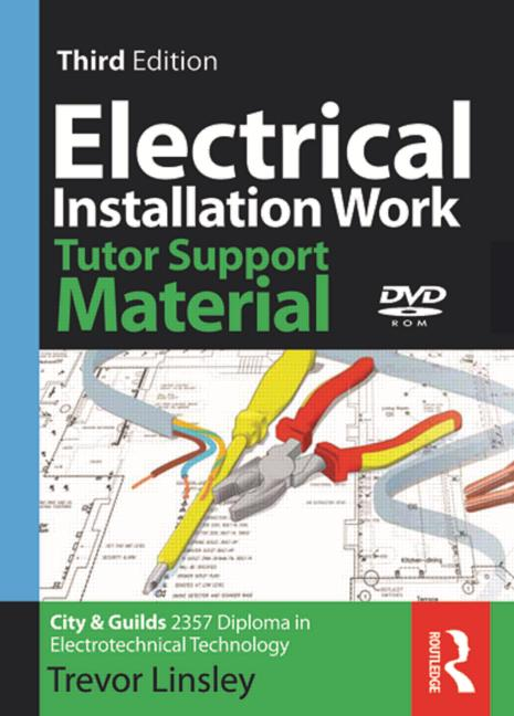 2357 Electrical Installation Work Tutor Support Material book cover