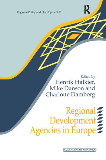 Regional Development Agencies in Europe book cover