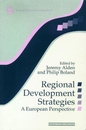 Regional Development Strategies A European Perspective book cover