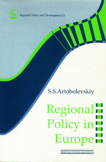 Regional Policy in Europe book cover