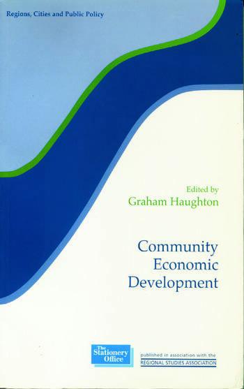 Community Economic Development book cover