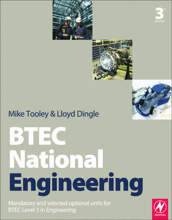BTEC National Engineering, 3rd ed book cover