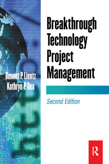 Breakthrough Technology Project Management book cover